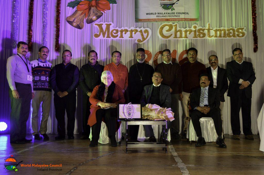 ഡബ്ല്യൂ.എം.സി അവാര്ഡ് മേരി മക്ക്കോര്മക്കിന് സമ്മാനിച്ചു, ക്രിസ്മസ് ആഘോഷം വര്ണാഭമായി.