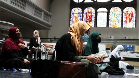 ബെർലിനിൽ മുസ്ലീംകൾക്ക് ജുമുഅ നിർവഹിക്കാൻ ചർച്ച് തുറന്നുനൽകി