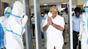<b>കര്ണാടക മുഖ്യമന്ത്രി ബിഎസ് യെദ്യൂരപ്പ കൊവിഡ് മുക്തനായി</b>