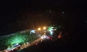 <b>കരിപ്പൂർ വിമാനത്താവളത്തിലെത്തിയ വിമാനം റൺവേയിൽ നിന്ന് തെന്നിമാറി; നിരവധി പേർക്ക് പരുക്ക്</b>