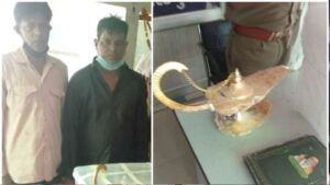 <b>'അലാവുദ്ദീന്റെ അത്ഭുത വിളക്ക്' വിറ്റ് രണ്ടരക്കോടി രൂപ തട്ടി; ഇരയായത് ഡോക്ടർ; അറസ്റ്റ്</b>