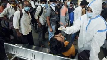 ഇന്ത്യയിൽ 24 മണിക്കൂറിനിടെ 53,476 പേര്ക്ക് കോവിഡ്; മഹാരാഷ്ട്രയില് മാത്രം 31,855 പുതിയ രോഗികള്